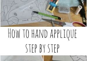 Drawings Of Hands Sewing Hand Applique How to Step by Step Freezer Paper Applique Pictures