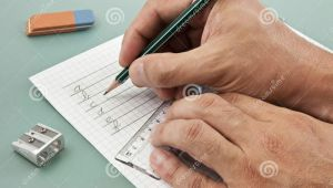 Drawings Of Hands Writing Writing In Action with Hands Stock Image Image Of Exercise Letter