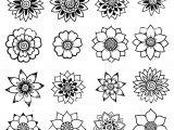 Drawings Of Henna Flowers Henna Tattoo Flower Templatemehndi Set Stock Vektor Art Und Mehr