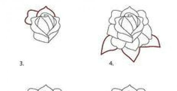 Drawings Of Little Roses How to Draw A Classic Tattoo Style Rose In 2019 How to Pinterest