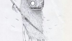 Drawings Of Monster Hands Luiza Kwiatkowska Art Drawing Illustration Monster Warrior Fur