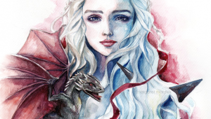 Drawings Of Mother Of Dragons Mother Of Dragons by Margaret Morales Game Of Thrones Artist
