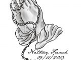 Drawings Of Praying Hands with Rosary Praying Hands with Rosary Wallpapers Wallpaper Cave