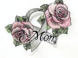 Drawings Of Roses and Ribbons 62 Best Rose Tattoo Cancer Ribbon Images Breast Cancer Tattoos