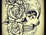 Drawings Of Sugar Skulls and Roses Pin by Brandy Wood On Tatoos Tattoos Sugar Skull Tattoos Skull