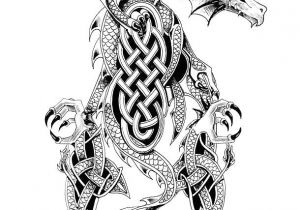Drawings Of Tribal Dragons Cool Celtic Dragon Tattoo Design D N D Dod D Celtic Dragon Tattoos