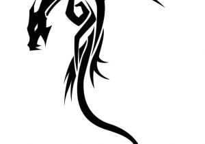 Drawings Of Tribal Dragons Dragon Tribal Tribal Drawing Pinterest Drache Ritter Und Drachen
