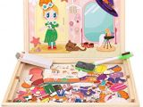 Dry Erase Draw Figures that Become Animated Amazon Com Magnetic Jigsaw Puzzle toddler toys