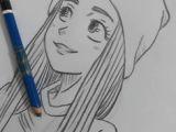 Easy 1 Minute Drawings Drawing Side Profile Girl Sketch Inspiration Drawings Art Art