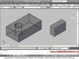 Easy 3d Drawing Online Autocad 3d Modeling Basic Tutorial Video for Beginner 1 Youtube