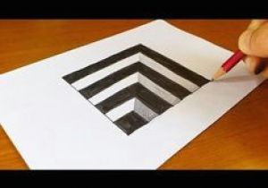 Easy 3d Drawings On Paper Step by Step 238 Best Illusion Drawings Images Drawings Painting Drawing