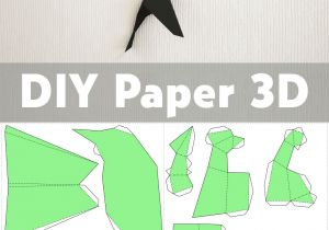Easy 3d Drawings On Paper Step by Step Diy Paper Birds On Wall 3d Papercraft Easy Paper Model Sculpture