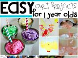 Easy 5 Year Old Drawings 16 Easy Art Projects for Your 1 Year Old Kid Blogger Network
