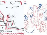 Easy 5 Year Old Drawings Test Draws On Doodles to Spot Signs Of Autism Spectrum Autism