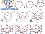 Easy 911 Drawings How to Draw Cute Kawaii Chibi Vaporeon From Pokemon Easy Step by