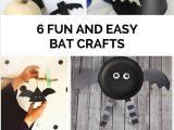 Easy Bats to Draw 6 Fun and Easy Bat Crafts Bat Craft Halloween Kids
