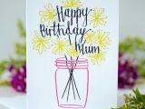 Easy Birthday Card Drawings Happy Birthday Mum Card Birthday Card Drawing Happy