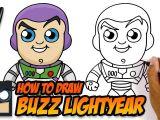 Easy Buzz Lightyear Drawing How to Draw Buzz Lightyear toy Story Easy Cartoon
