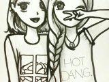 Easy Cute Bff Drawings Cute 3 Lol Drawings Of Friends Bff Drawings Best Friend