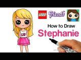 Easy Cute Fairy Drawing How to Draw Lego Friends Stephanie Youtube In 2020 Lego
