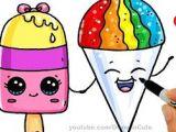 Easy Cute Pics to Draw How to Draw An Ice Cream Cute Easy Como Dibujar Un