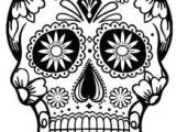 Easy Day Of the Dead Skull Drawings 4831 Dead Free Clipart 30