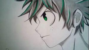 Easy Deku Drawing Drawing Midoriya Izuku Deku