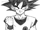 Easy Dragon Ball Z Drawings Goku Drawings Pencil Pic 23 Drawing and Coloring for Kids