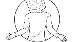 Easy Draw Phone How to Draw Marshmello Super Easy fortnite Season 7