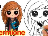 Easy Drawing Cute Youtube How to Draw Hermione Easy Harry Potter Youtube