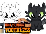Easy Drawing Cute Youtube How to Draw toothless How to Train Your Dragon Youtube