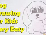 Easy Drawing for 14 Year Olds How to Draw A Dog for Kids Youtube