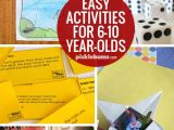 Easy Drawing for 7 Year Olds Ten Easy Activities for 6 10 Year Olds Fun Activities to Do with