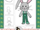 Easy Drawing for Grade 2 Easter Art Activities Spring April Directed Drawings Drawing