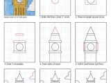 Easy Drawing for Kids.pdf Draw Big Ben Drawing with Kids Drawings Art Projects Art