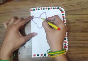 Easy Drawing for Teachers Day Teachers Day Handmade Greeting Card Making Idea for School Students