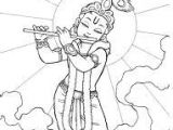 Easy Drawing God Images Of Line Drawing Krishna Google Search How to Draw