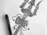 Easy Drawing God Trishul Damru Shiva Har Har Mahadev Pinterest Shiva Shiva Art
