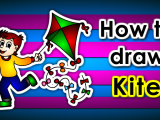 Easy Drawing Kite Pin Oleh Rgbpencil Di How to Draw Website Rgbpencil Draw