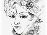 Easy Drawing Lord Krishna Outline Of Lord Krishna Google Search Paints On Glass Krishna