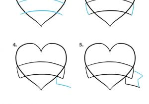 Easy Drawing Love Hearts How to Draw A Mother S Day Heart Really Easy Drawing Tutorial