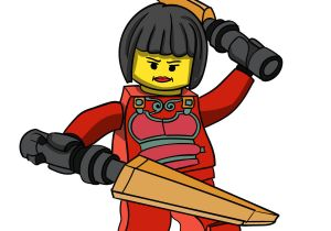 Easy Drawing Ninjago How to Draw Nya From Ninjago Step by Step Drawing Tutorials