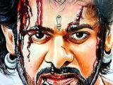 Easy Drawing Of Bahubali 2 22 Best Bahubali 2 Drawing Prabhas Anushka Shetty Images 3d