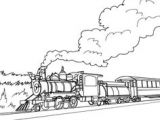 Easy Drawing Of Engine Drawing Trains In One Point Perspective with Easy Step by Step
