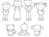 Easy Drawing On Children S Day 76 Best Family Drawing Images Family Drawing Clip Art School Clipart