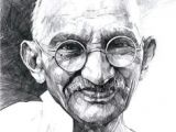 Easy Drawing On Quit India Movement Ink Drawing Of Mahatma Gandhi Portraits I Admire In 2019