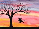 Easy Drawing Using Watercolor Easy Watercolor Paintings for Beginners Easy Watercolor Paintings