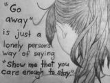 Easy Drawings About Depression 116 Best Sad Art Images Drawings thoughts Feelings