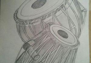 Easy Drawings but Beautiful Easy and Beautiful Pencil Drawings Tabla Pencil Shading Sketchbook