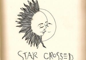 Easy Drawings but Beautiful Nice Simple Drawing Of the Sun and Moon as Star Crossed Lovers